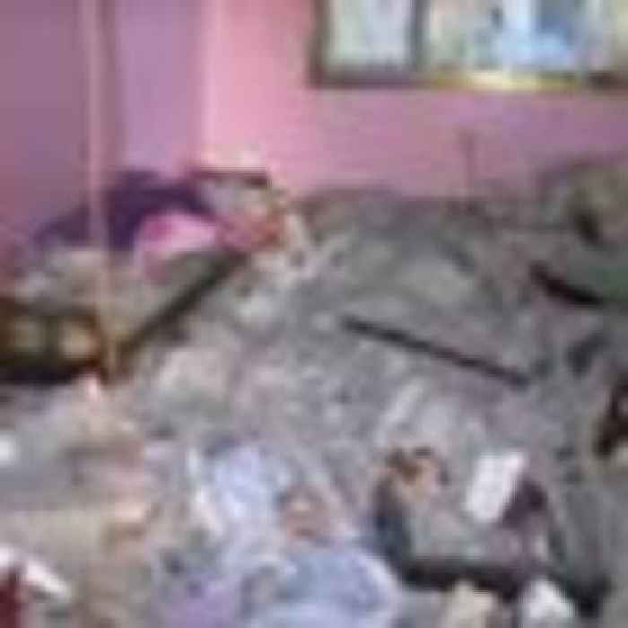 Grieving father says children killed 'without warning' after Israeli strike hits house in Gaza