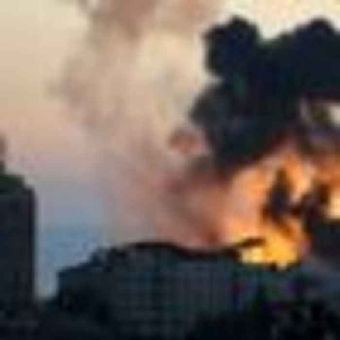 Israeli warplanes bomb new targets in Gaza, and Palestinian militants fire salvo of rockets back