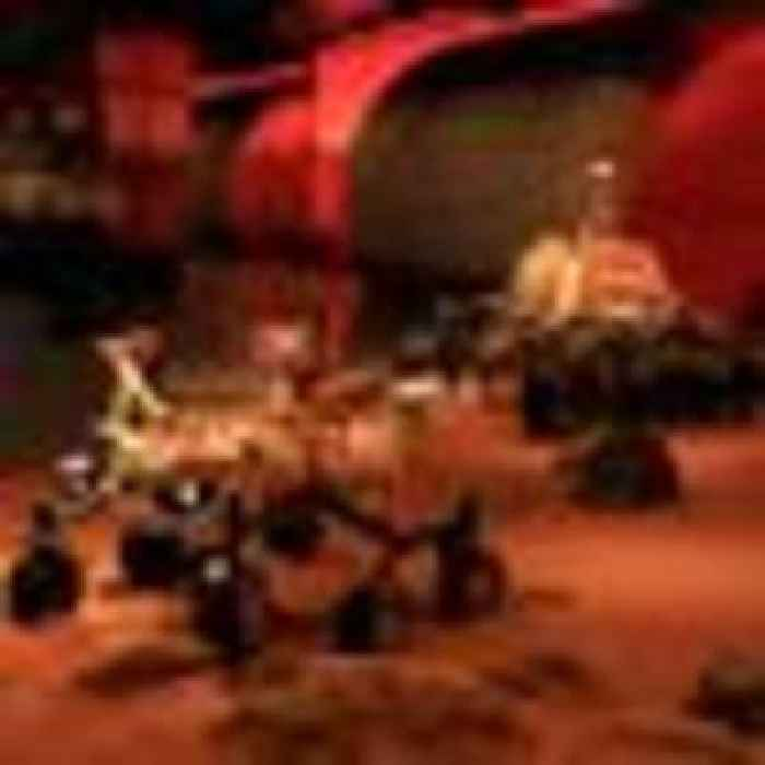 'Nine minutes of terror' as China becomes second country to land on Mars
