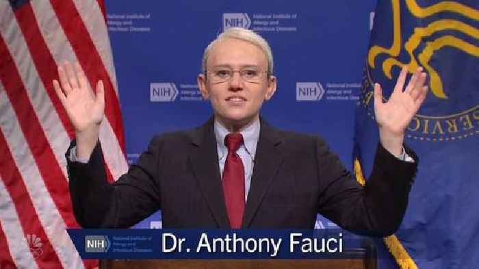 'SNL': Kate McKinnon's Fauci Explains Confusing CDC Mask Rules With Bad Improv