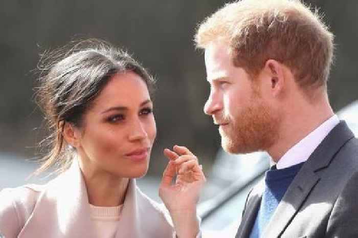 Royal aides want Harry and Meghan to 'give up their titles'