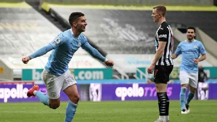 EPL: Ferran Torres's hat-trick guides champs Man City to 4-3 win over Newcastle