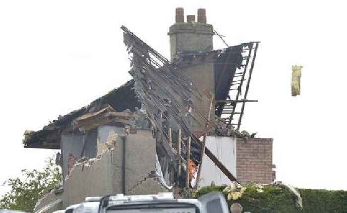 Child dies and four injured after major gas explosion destroys terraced houses