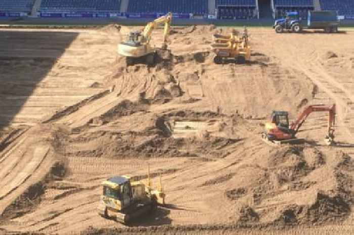 Work begins on Rangers pitch upgrade ahead of Premiership title defence