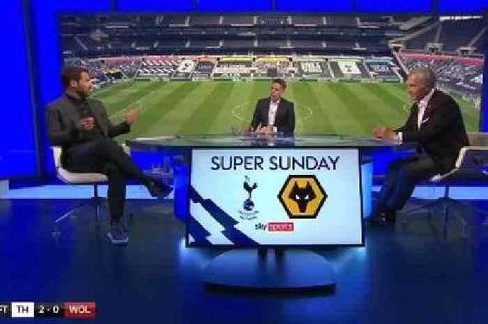 Graeme Souness and Jamie Redknapp clash in Sky Sports studio over Dele Alli