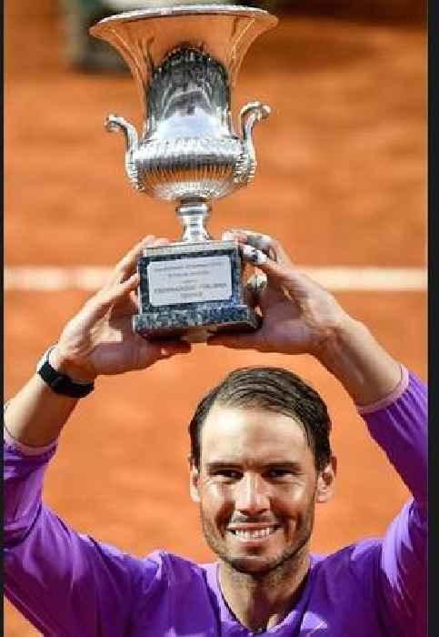 Rafael Nadal beats Novak Djokovic for 10th Rome Open title