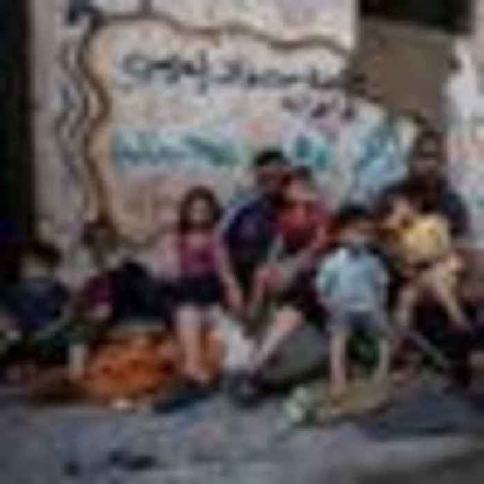 Families left homeless after militant tunnels destroyed in Israeli bombing campaign