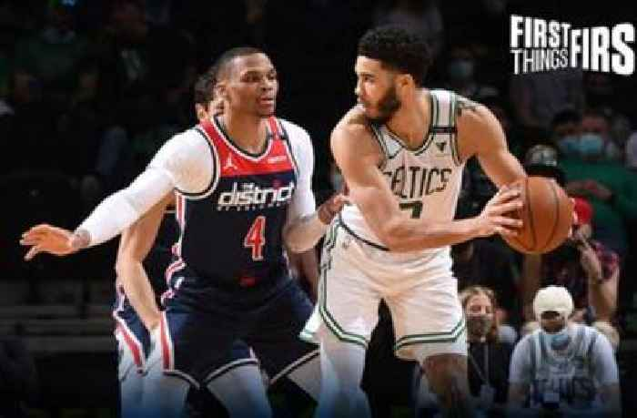 Nick Wright: Jayson Tatum gave us a signature performance in Celtics' win, but he's not a superstar yet | FIRST THINGS FIRST