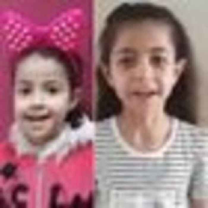 Girls killed in Israeli airstrike had told parents 'we're going to die, we're scared'