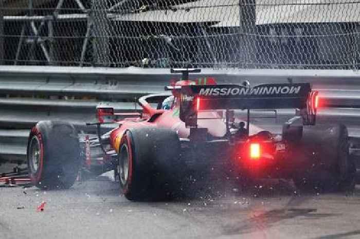 Lewis Hamilton struggles as Charles Leclerc takes Monaco pole despite big crash