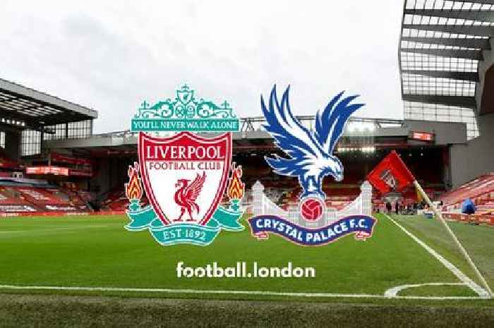 Liverpool vs Crystal Palace live: Predicted teams, injury news, TV channel
