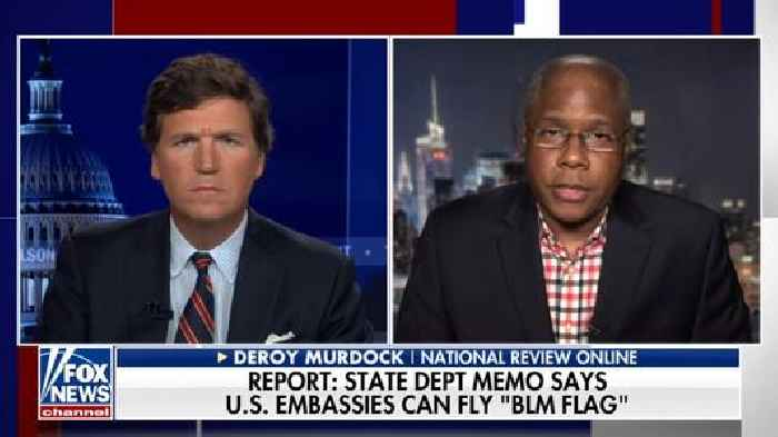 Tucker Carlson Says BLM's Existence 'Is a National Humiliation' (Video)