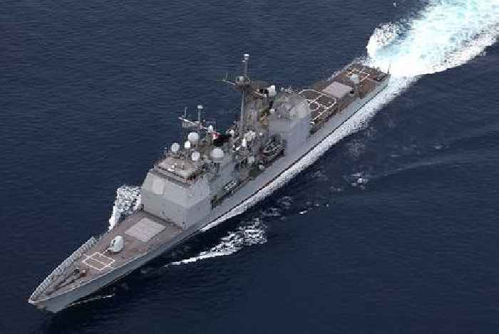 Weapons on the Heavily Armed US Navy Ticonderoga Class Aegis Guided-Missile Cruisers
