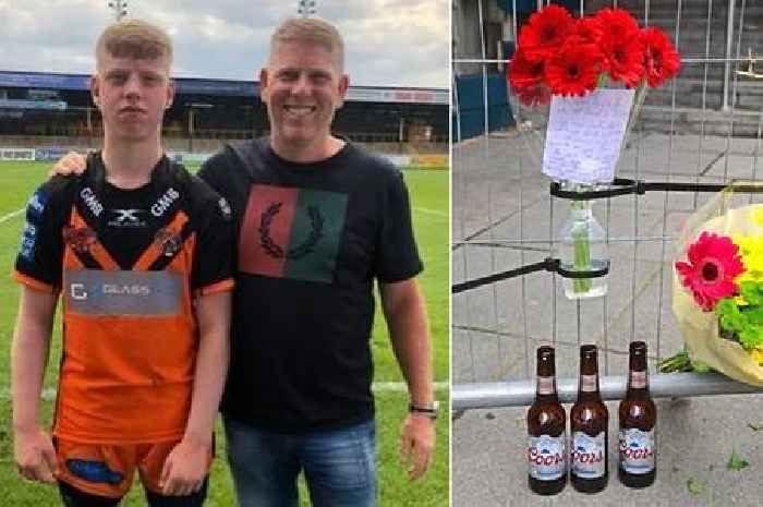 Tributes for father and son who died after tragic lift fall