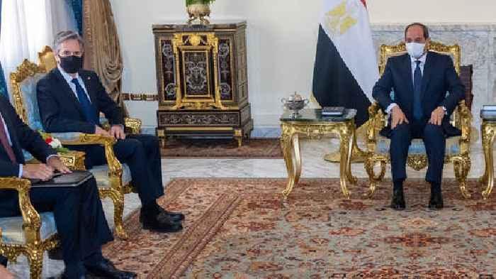Blinken Turns To 'Effective Partner' Egypt To Calm Middle East