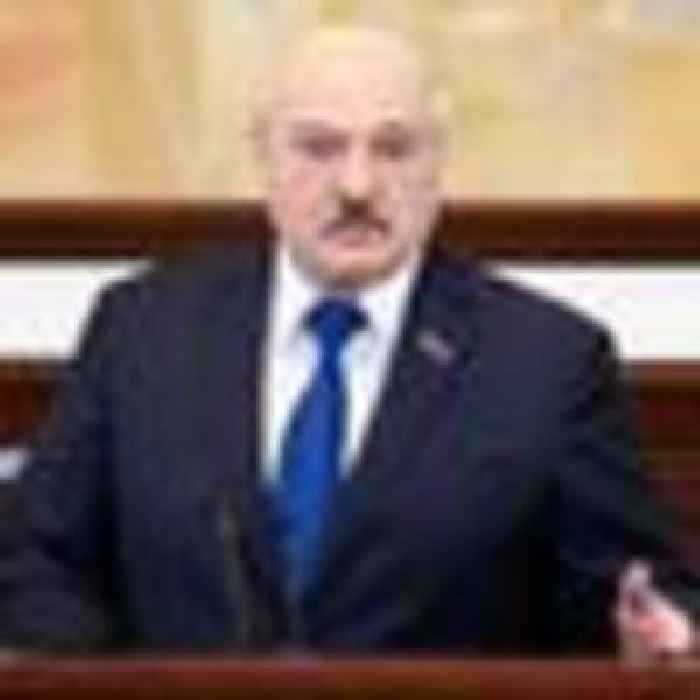 Belarus leader defends plane diversion and accuses opponents of crossing 'many red lines'