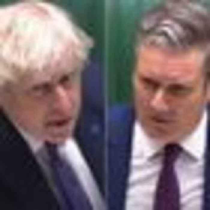 Watch live: Boris Johnson faces Sir Keir Starmer at PMQs