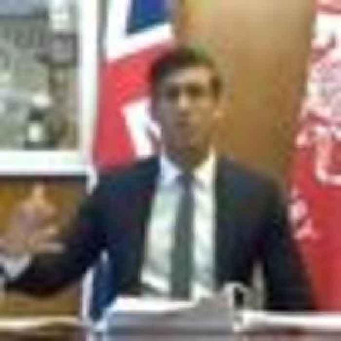 Rishi Sunak says David Cameron's involvement with Greensill 'not relevant'
