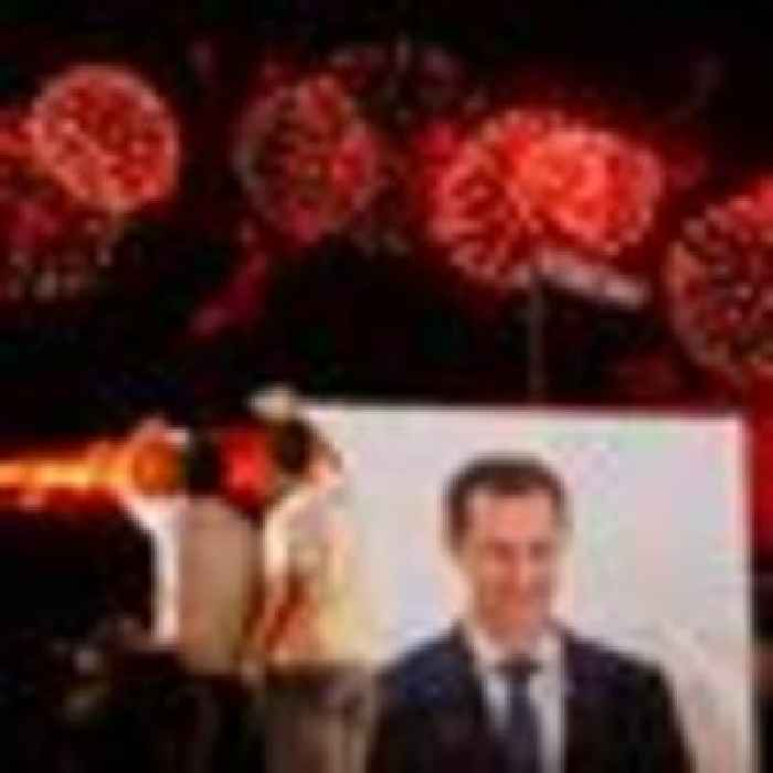Syria's Bashar al Assad elected for fourth term as president after winning 95.1% of the vote
