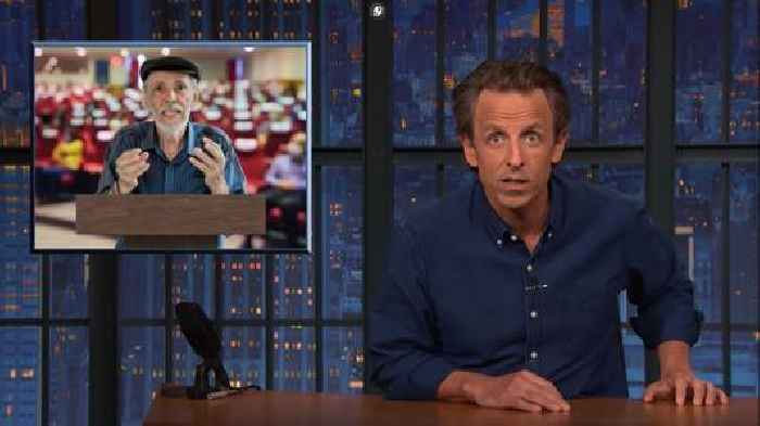 Seth Meyers Compares Election Conspiracy Theorists to a Roach Arguing With a Cicada (Video)