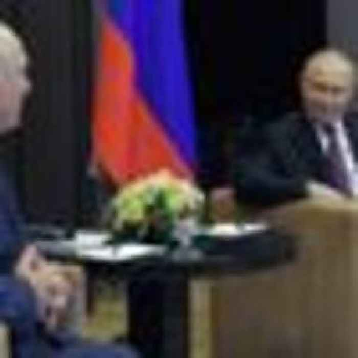 Lukashenko tells Putin opponents trying to 'destabilise' Belarus amid outcry over plane diversion