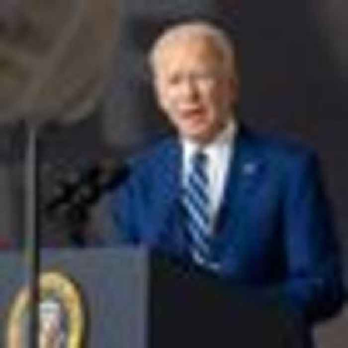 Biden reveals first budget - a $6trn spending plan with $800bn for climate change