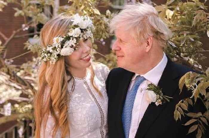 First photos of Boris Johnson and Carrie Symonds after their 'secret' wedding
