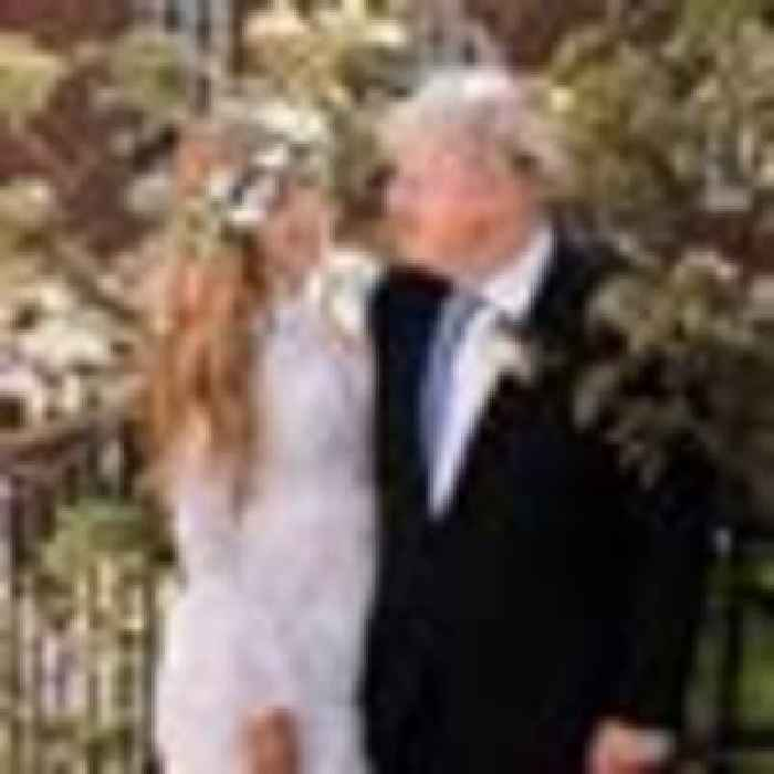 PM and Carrie Symonds release wedding photo after marrying in secret ceremony