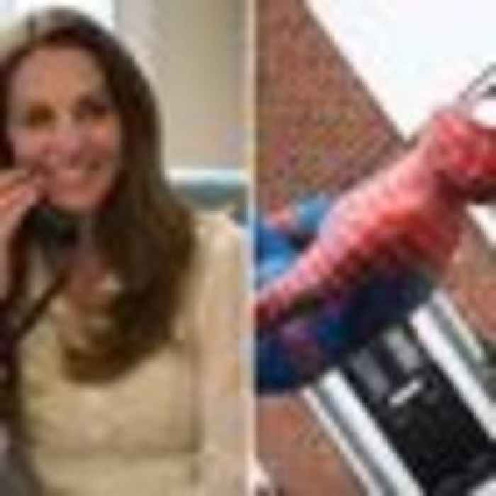 Kate jokes about getting William a Spider-Man suit as she praises 'amazing' photo of lockdown hero