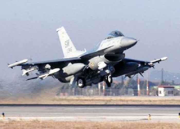 US Navy Will Get Air Force F-16 Fighters As Stop Gaps Until Super Hornets Are Delivered