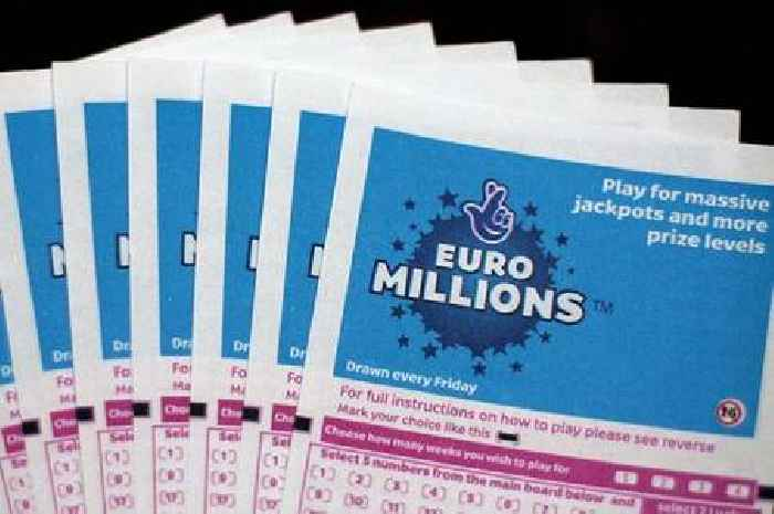 EuroMillions £111m jackpot scooped as UK winner comes forward to claim prize