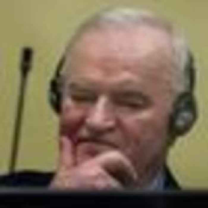 Former Bosnian Serb military chief Ratko Mladic loses appeal to overturn genocide conviction