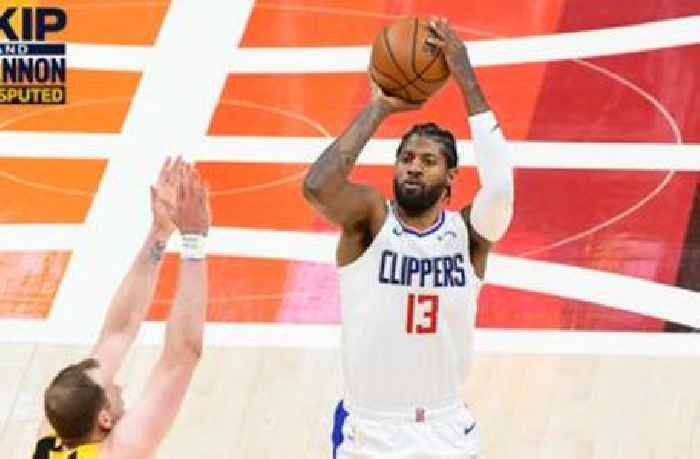 """""""Clippers had a chance to steal Game 1"""" — Skip Bayless on LA's loss to the Utah Jazz   UNDISPUTED"""