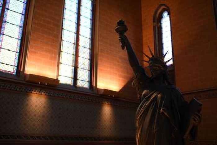 Why Did France Send a Mini Replica of the Statue of Liberty to Washington D.C.?