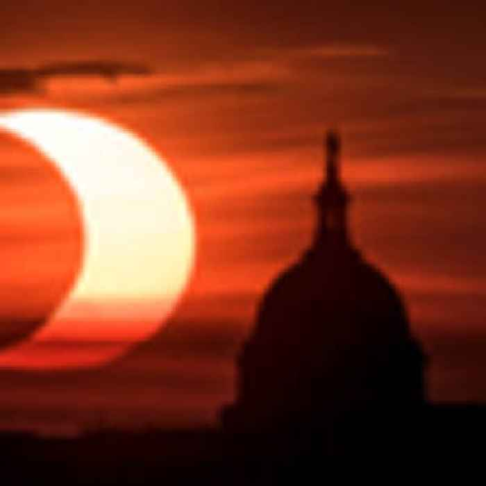 'Ring of fire' solar eclipse thrills world's northern tier