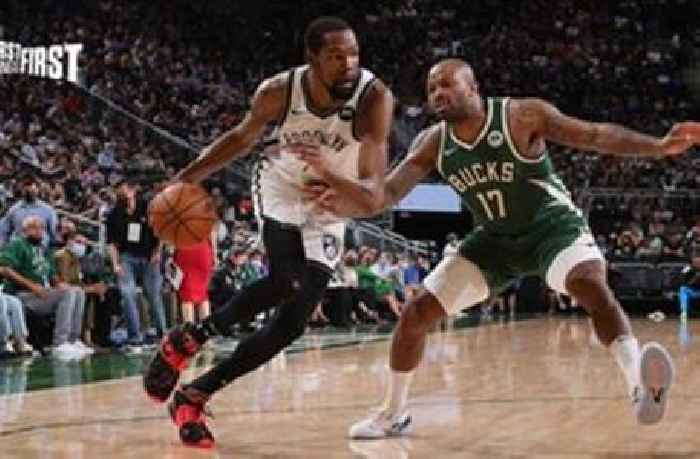 Nick Wright reacts to the Nets' Game 3 loss: 'KD took himself out of the Bruce Brown play' | FIRST THINGS FIRST