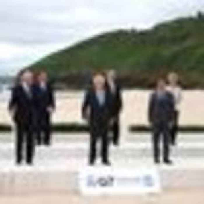 G7 leaders arrive in Cornwall as PM looks for COVID vaccine deal - and to avoid Brexit row