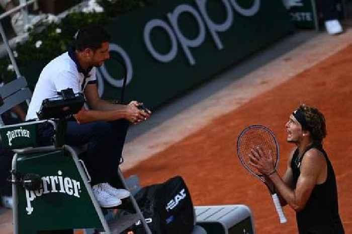 French Open star Alexander Zverev in
