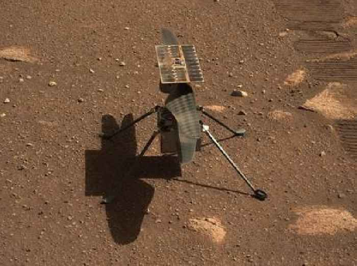 After Surviving a Wild Ride on Mars, NASA Ingenuity Takes to the Martian Sky