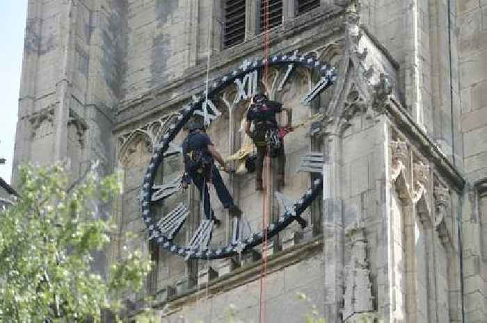 Beverley Minster's historic clock has long-awaited facelift