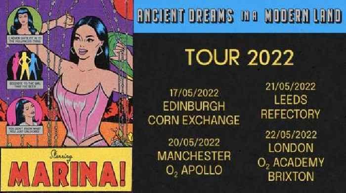 Live Preview: MARINA Announces 'Ancient Dreams In A Modern Land' Tour Dates