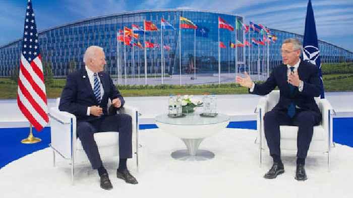 Secretary General Welcomes US President To NATO Summit – Transcript