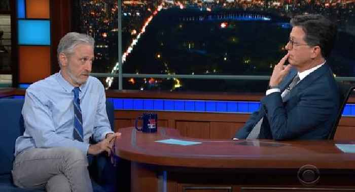 Conservatives Applaud Jon Stewart For Backing Wuhan Lab Leak Theory