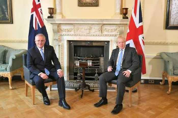 Details of UK-Australia trade agreement unveiled by PM