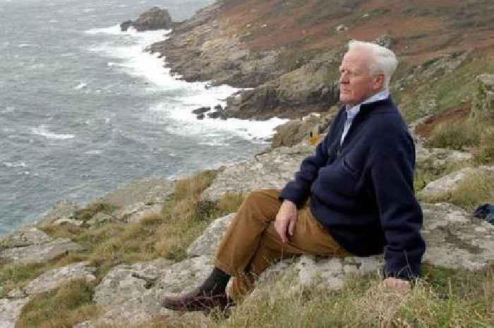World famous author died after falling at his home in Cornwall