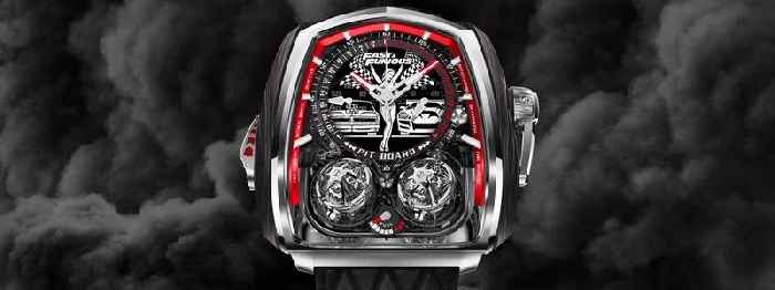 This Fast & Furious Twin Turbo Timepiece Is All About Pure Action and Speed