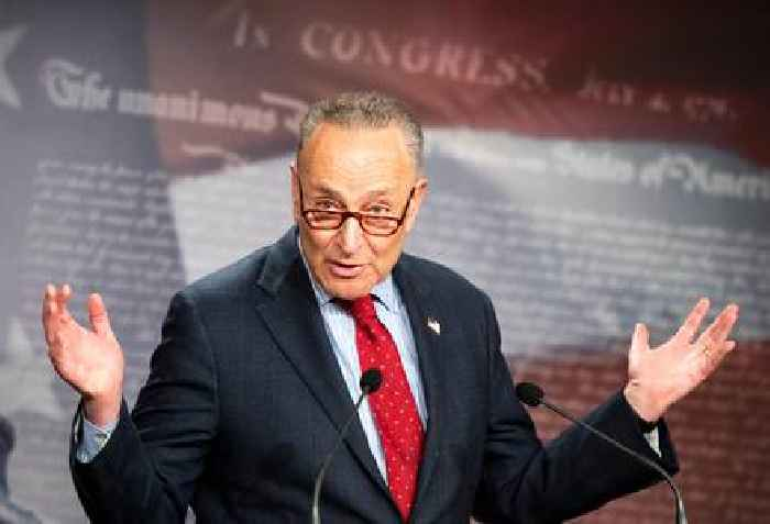 Senate Majority Leader Chuck Schumer 'Sincerely Sorry' For Referring To Developmentally Disabled Children As 'Retarded'