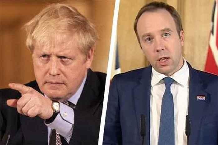 Cummings says Boris Johnson called Matt Hancock 'hopeless' in Whatsapp message