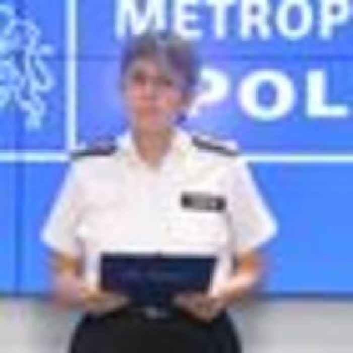 Met Police chief has 'no intention of resigning' over force institutional corruption claims