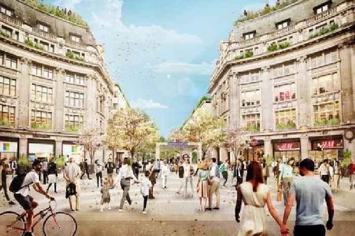 London's Oxford Circus to be transformed into pedestrianised 'piazzas'